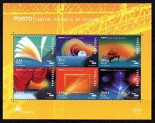 Portugal 2001 Porto Cultural capital Mi. Block 170 MNH
