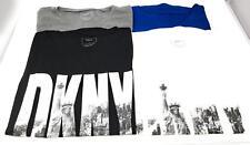 DKNY Womens DKNY Ney York Style Logo Crew Neck Short Sleeve Cotton