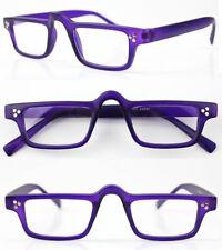 Half moon Vintage Nerd Clear Reading Glasses Eyeglasses Readers CE +1.0 +2 +3 +4
