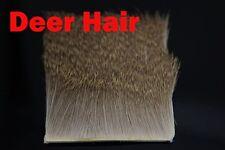 2 Pcs Deer Hair Elk Body Hair Short Slim Thin Fur #14 #16 Fly Tying Materials