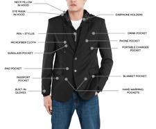 New BAUBAX Men's Black Blazer - Choice of Size