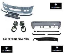 PARECHOC PARE CHOC AVANT AVEC AB + ARRIERE PACK M M2 M3 BMW SERIE 3 E46 BERLINE