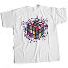 Big Bang Theory Rubik's Cube Funny Retro T Shirt Rubix 80S Sheldon Puzzle Cooper