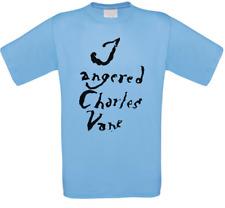 I Angered Charles Vane Black Vele Serie T-Shirt Tutte le Taglie Nuovo