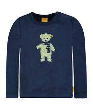 %% STEIFF Sweet Teddy Boy Shirt mit Teddy blau Gr.56 - 86 NEU 6722511 %%