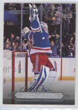 2014-15 SP Authentic #170 Henrik Lundqvist New York Rangers Hockey Card