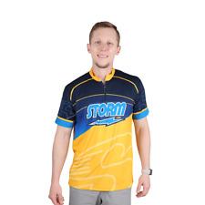 Storm Striker Blue/Gold Bowling Shirt Jersey
