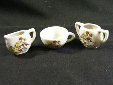 Vintage 1950's Japan Miniature Creamer Sugar Cup