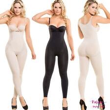 Seamless Full Compression Body Shaper Fajas Colombianas Thermal Piernas Bodysuit