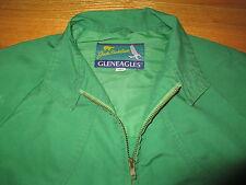 70s JACK NICKLAUS Gleneagles GREEN Zippered (Size 38) Jacket GOLDEN BEAR