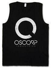 OSCORP INDUSTRIES LOGO TANK TOP VEST GYM - Osbourne Amazing Elektro Spider Man
