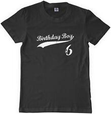 Threadrock Kids Birthday Boy 6 year old Youth T-shirt happy 6th six