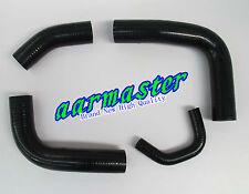 Toyota Landcruiser 80 SERIES 3F radiator hose kit Black