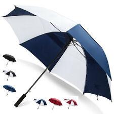 Third Floor Umbrellas 62 Inch Automatic Open Golf Umbrella - Large Vented Canopy