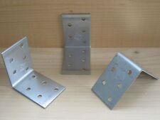 Lochplattenwinkel 60 x 60 x 40 mm Stahl verzinkt Holzverbinder Winkelverbinder