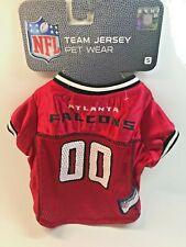 Atlanta Falcons- Licensed Football Nfl Dog Pet Mesh Red Jersey.(item #2094)