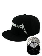 I Metallica danno Inc Snap Back Cap Nero