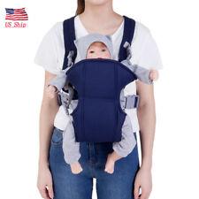 c56ac6661b9 Newborn Baby Infant Sling Adjustable Backpack Comfort Buckle Carriers Wrap