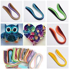 1Bag Gradual Colors Quilling Paper Strips Kits 530x10mm Kids Craft Paper Making