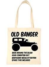 Old Banger Birthday Christmas Gift Shopping Tote Bag For Life