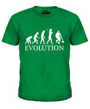 BASKETBALL EVOLUTION OF MAN KIDS T-SHIRT TEE TOP GIFT CLOTHING