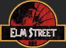 Pesadilla en Elm Street Jurassic Park Mash Up Camiseta Horror Movie