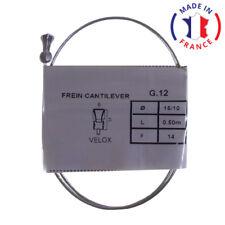 CABLE DE FREIN VELOX CANTILEVER ACIER L0.5m D1.5mm VELO VTT VILLE ENFANT VINTAGE
