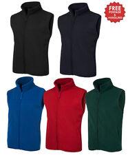 Polar Fleece Vest adults black navy royal bottle red S M L XL 2XL 3XL 4XL 5XL