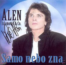 ALEN ISLAMOVIC CD SAMO NEBO ZNA original SIGNIERT Bihac Potpis Best Hit Croatia
