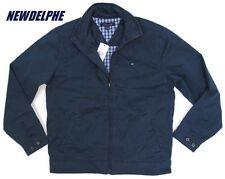 NWT TOMMY HILFIGER Men's Logan Jacket Windbreaker Coat S M L XL 2XL 100% Cotton