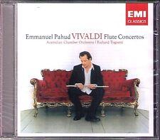 Emmanuel Pahud: Vivaldi 8 Flute Concerto op.10 & rv.429 440 Richard Tognetti CD
