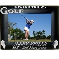 Boys Girls Golf Team Personalized Metal Photo Frames 4x6 5x7 8x10 Custom Picture