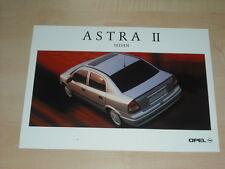 36328) Opel Astra II Sedan Polen Prospekt 2000