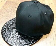 Nero Cappellino con visiera,BOLLE ESCLUSIVO VISIERA PIATTA da baseball,Uomo &