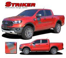 2019 2020 Ford Ranger Body Stripes STRIKER Side Door Vinyl Graphics Decals Kit