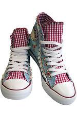 Sneaker von Krüger türkis, das Modell wird irrtümlich als Chucks bezeichnet