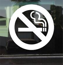 NO SMOKING SYMBOL VINYL 8 INCH DECAL/STICKER