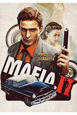 Mafia II PS4 XBOX PC GAME POSTER stampa T419