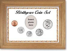 White Framed Birth Year Coin Gift Set, 2001  00002D6B