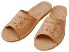 Damen Hausschuhe - Größe 36-40 - Echtleder - Latschen,Pantoffeln - YA17