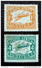 AUSTRALIE - timbre - yvert et tellier aérien n°5 et 6 nsg - stamp australia