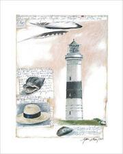 Gerke, Sabine - Kampen - Leuchtturm 40x50 Kunstdruck Artprint