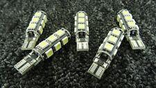Nissan Coche LED ERROR FREE CANBUS 13SMD Xenon Blanco W5W bombilla de luz lateral de 501