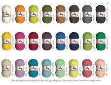 EUR 5,80/100 g ORIGINALE Myboshi Nr 2 cotone / Kapok uncinetto maglia 50g