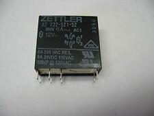 relais standard ZETTLER AZ 732-521-52 250VAC 6A 12VDC 2RT AZ73252152 (Lot de 3)