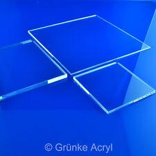 (63,99€/m²) 5mm Grünke® Acrylglas xt farblos Acrylglasscheibe Zuschnitt Platte