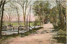 2 Views of Seven Bridge Road Lancaster MA Postcard Lot