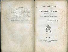 * Leçons élémentaires de numismatique romaine, Paris, 1823