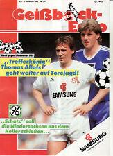 BL 88/89 1. FC Köln - Hannover 96