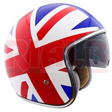 Casco Moto Jet Classico CGM 133K TRAFALGAR bandiera Inglese con Vernice Lucida